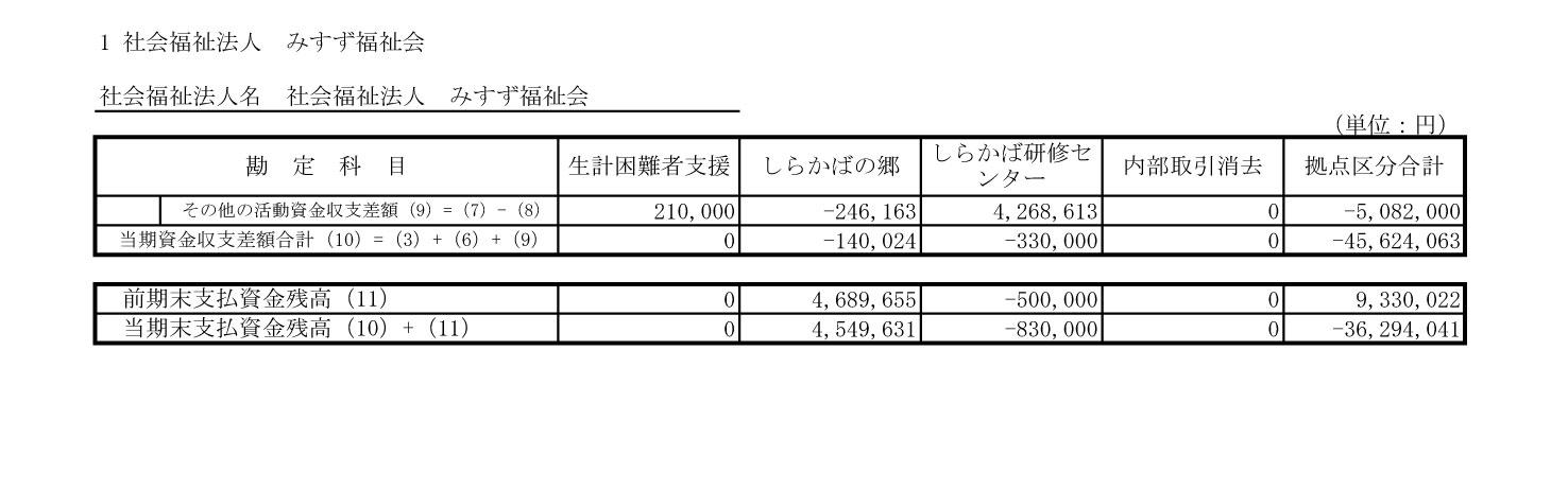 附属明細書・社会福祉大阪1-9